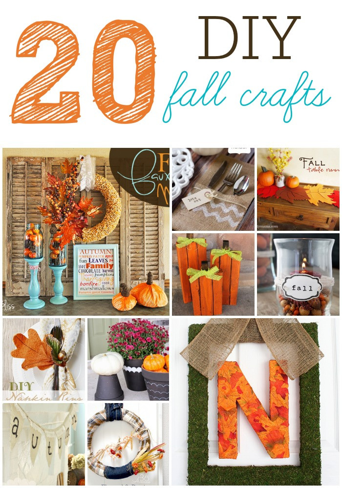 Best ideas about Fall Craft Ideas . Save or Pin 20 DIY Fall Craft Projects – Six Sisters Stuff Now.