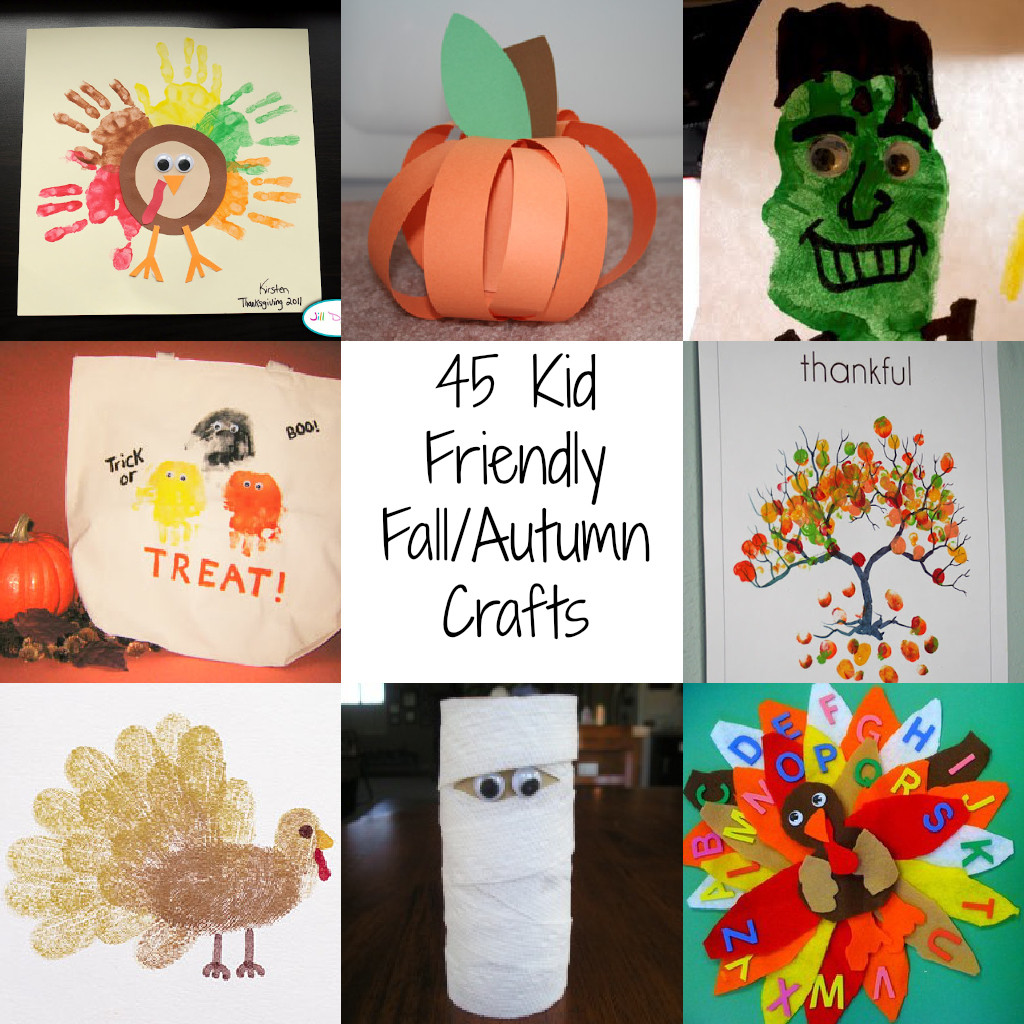 Best ideas about Fall Craft Ideas . Save or Pin Autumn Art Projects For Kids Autumn Crafts Picture Now.