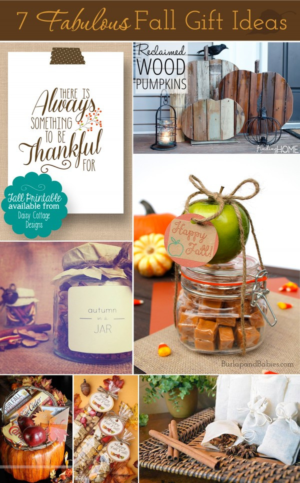 Best ideas about Fall Gift Ideas . Save or Pin 7 Fall Hostess Gift Ideas Now.