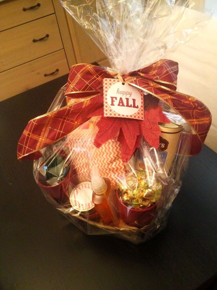 Best ideas about Fall Gift Ideas . Save or Pin 25 best ideas about Fall t baskets on Pinterest Now.