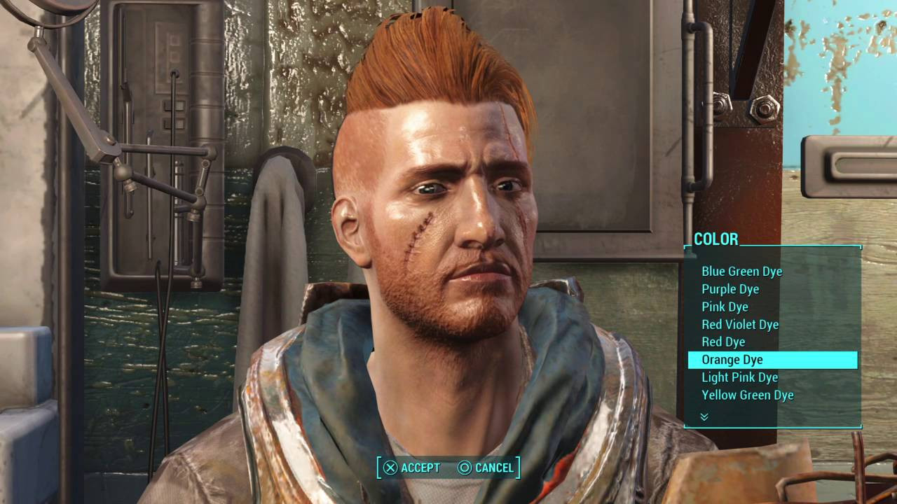 Best ideas about Fallout 4 Male Hairstyles . Save or Pin Fallout 4 Nuka World New Hair Style and Hair Dye Male Now.