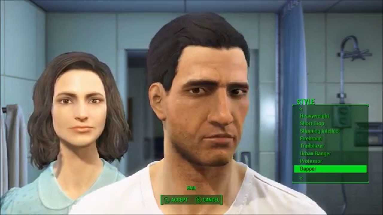 Best ideas about Fallout 4 Male Hairstyles . Save or Pin ALL MALE HAIRSTYLES Fallout 4 Character Creation Now.