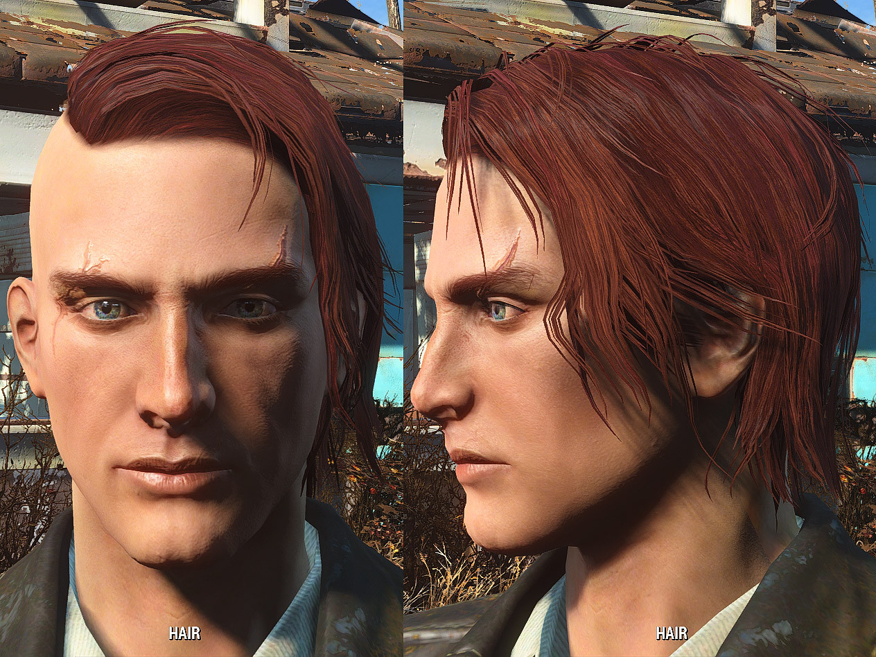 Best ideas about Fallout 4 Male Hairstyles . Save or Pin More Hairstyles for Male Fallout 4 FO4 mods Now.