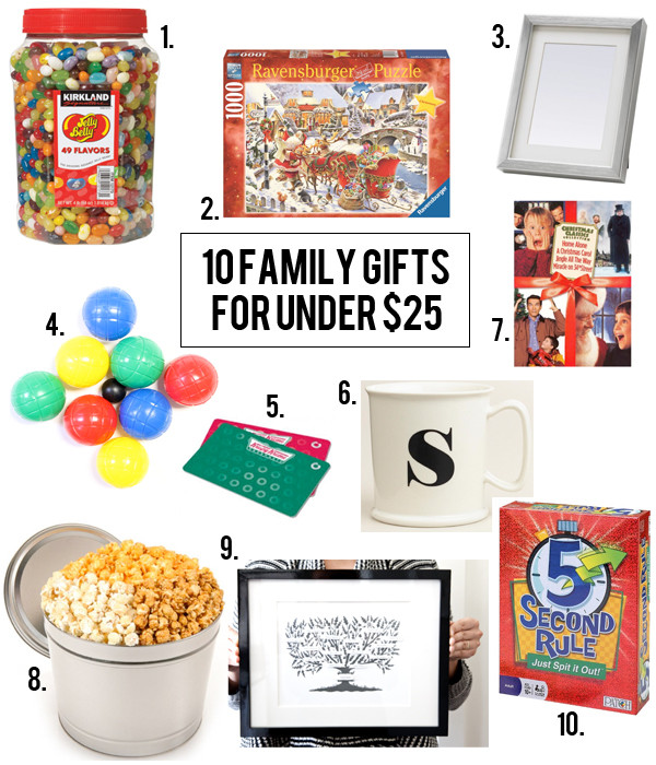 Best ideas about Family Gift Ideas . Save or Pin Boxwood Clippings Blog Archive 10 Family Gifts for $25 Now.