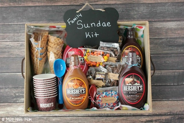 Best ideas about Family Gift Ideas . Save or Pin DIY Family Sundae Kit Idea Now.