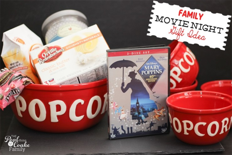 Best ideas about Family Gift Ideas . Save or Pin Family Gift Ideas Movie Night in a box or basket Now.