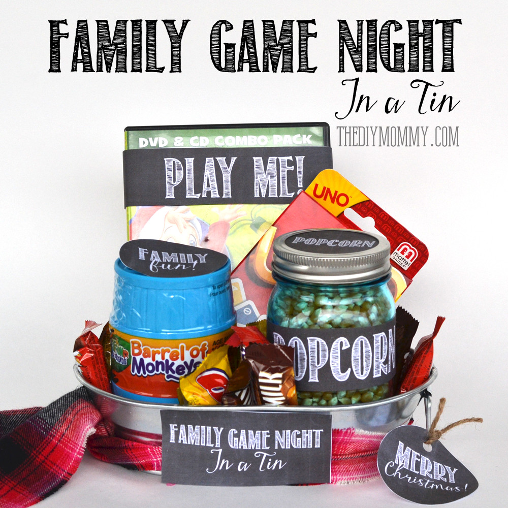 Best ideas about Family Gift Ideas . Save or Pin A Gift In A Tin Family Game Night In A Tin Now.