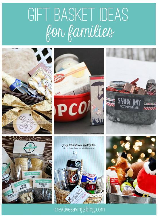 Best ideas about Family Gift Ideas . Save or Pin DIY Gift Basket Ideas for Everyone on Your List Now.