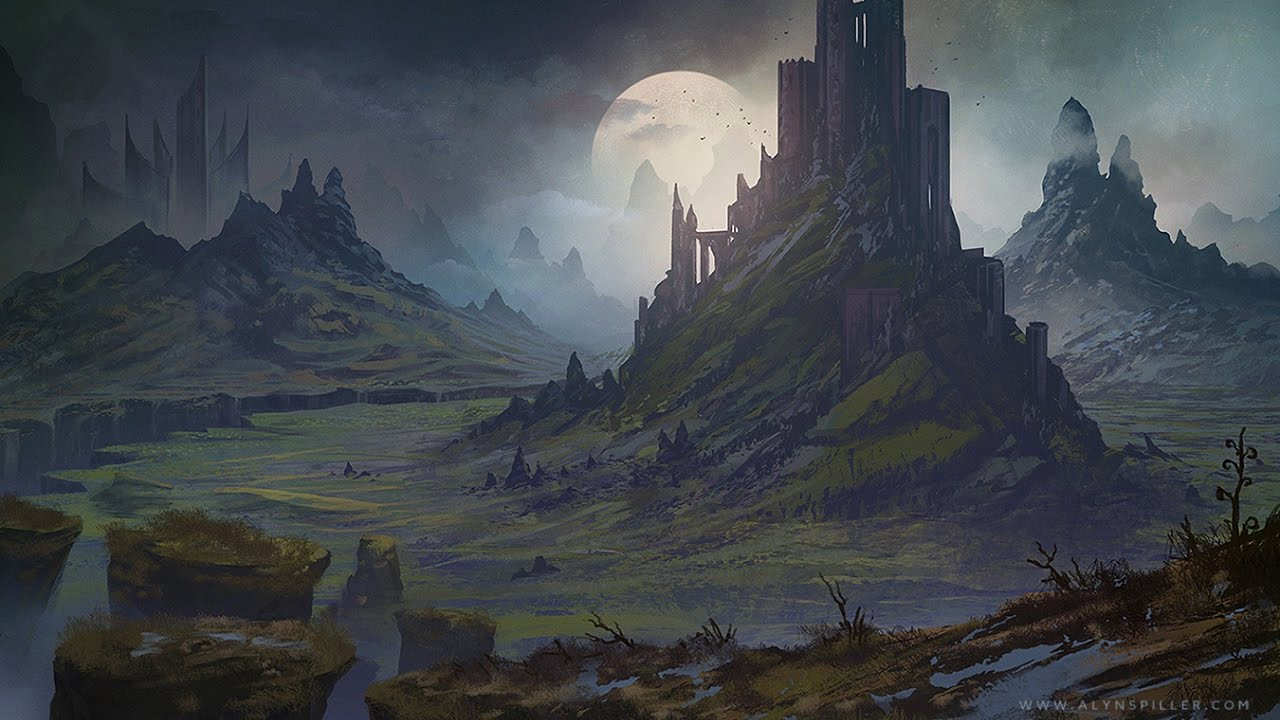 Best ideas about Fantasy Landscape Art . Save or Pin Digital Speed Painting Fantasy Landscape Rift Now.