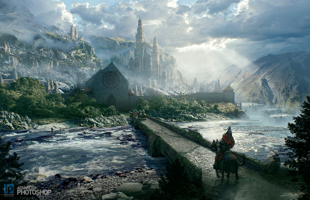 Best ideas about Fantasy Landscape Art . Save or Pin Epic Fantasy Landscape Concept by ZuluSplitter on DeviantArt Now.