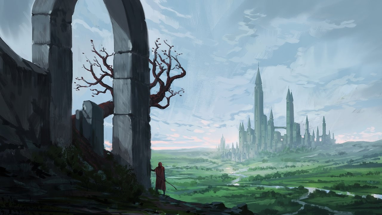 Best ideas about Fantasy Landscape Art . Save or Pin Digital Painting Fantasy Landscape Time Lapse Now.