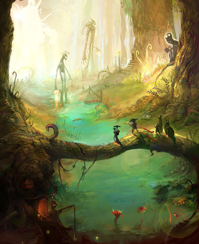Best ideas about Fantasy Landscape Art . Save or Pin Breathtaking Fantasy Landscapes & Scenery Now.