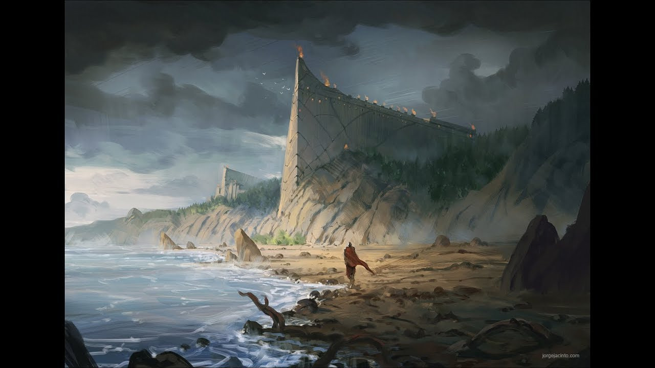 Best ideas about Fantasy Landscape Art . Save or Pin ProCreate Digital Painting Fantasy Landscape II Time Now.