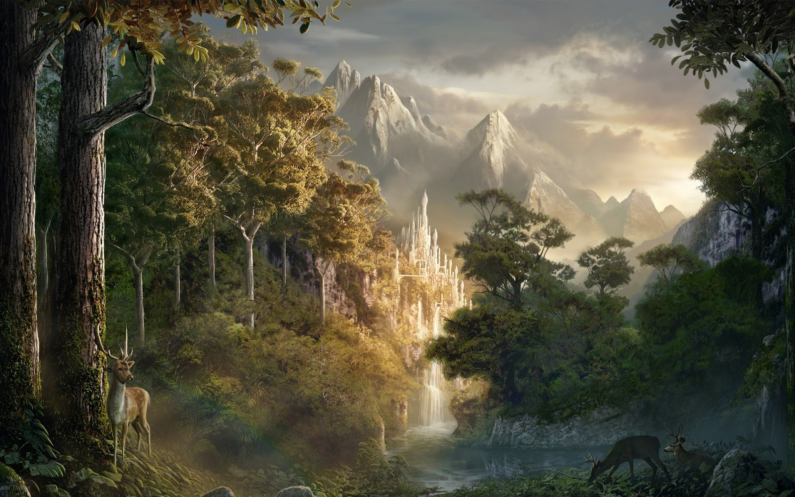 Best ideas about Fantasy Landscape Art . Save or Pin Infinity4Every1 Amazing Fantasy Art Now.