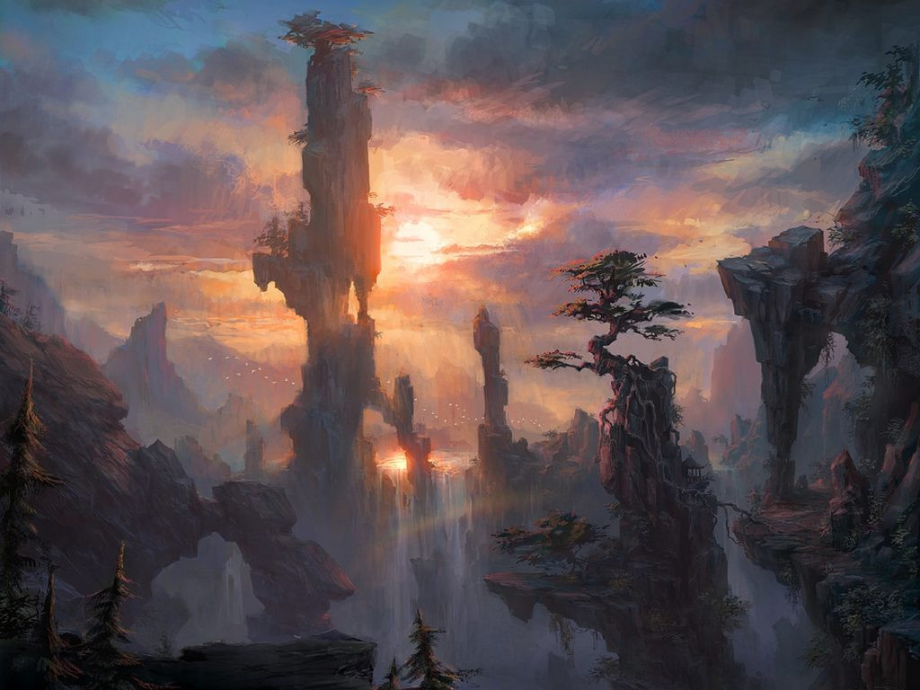 Best ideas about Fantasy Landscape Art . Save or Pin Fantasy Landscape HD Wallpapers Now.