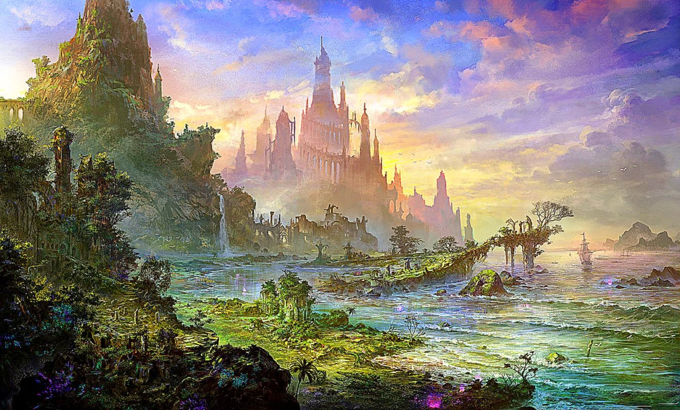 Best ideas about Fantasy Landscape Art . Save or Pin January 2015 Now.
