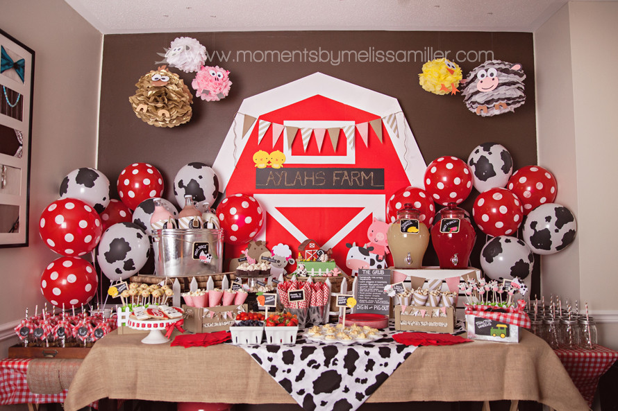 Best ideas about Farm Birthday Party Supplies . Save or Pin Farm Themed First Birthday Party Decor Ideas Now.