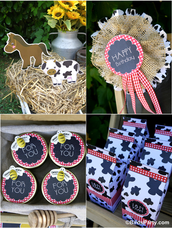 Best ideas about Farm Birthday Party Supplies . Save or Pin My Kids Joint Barnyard Farm Birthday Party Party Ideas Now.