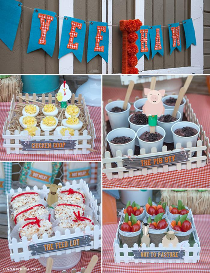 Best ideas about Farm Birthday Party Supplies . Save or Pin Kara s Party Ideas Farm Birthday Party Planning Ideas Now.