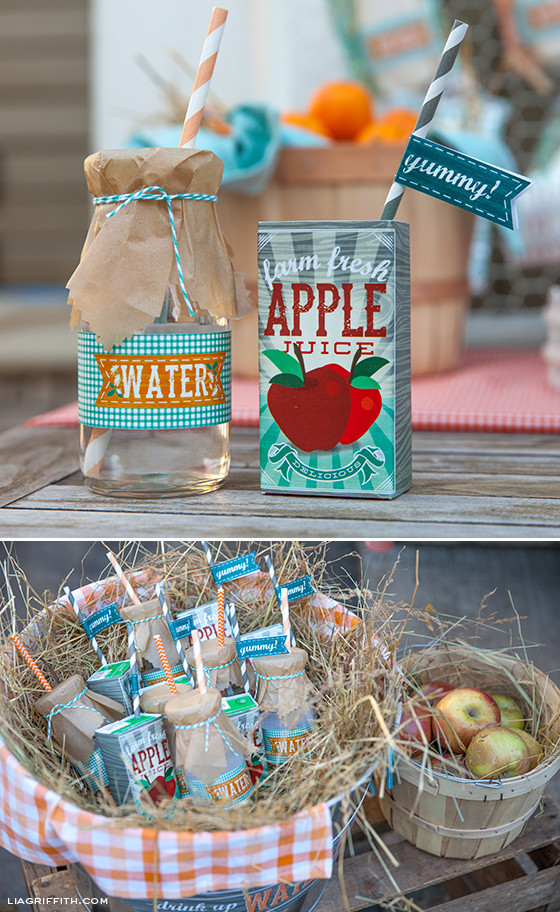 Best ideas about Farm Birthday Party Supplies . Save or Pin DIY Kid s Farm Party Food & Drinks Now.