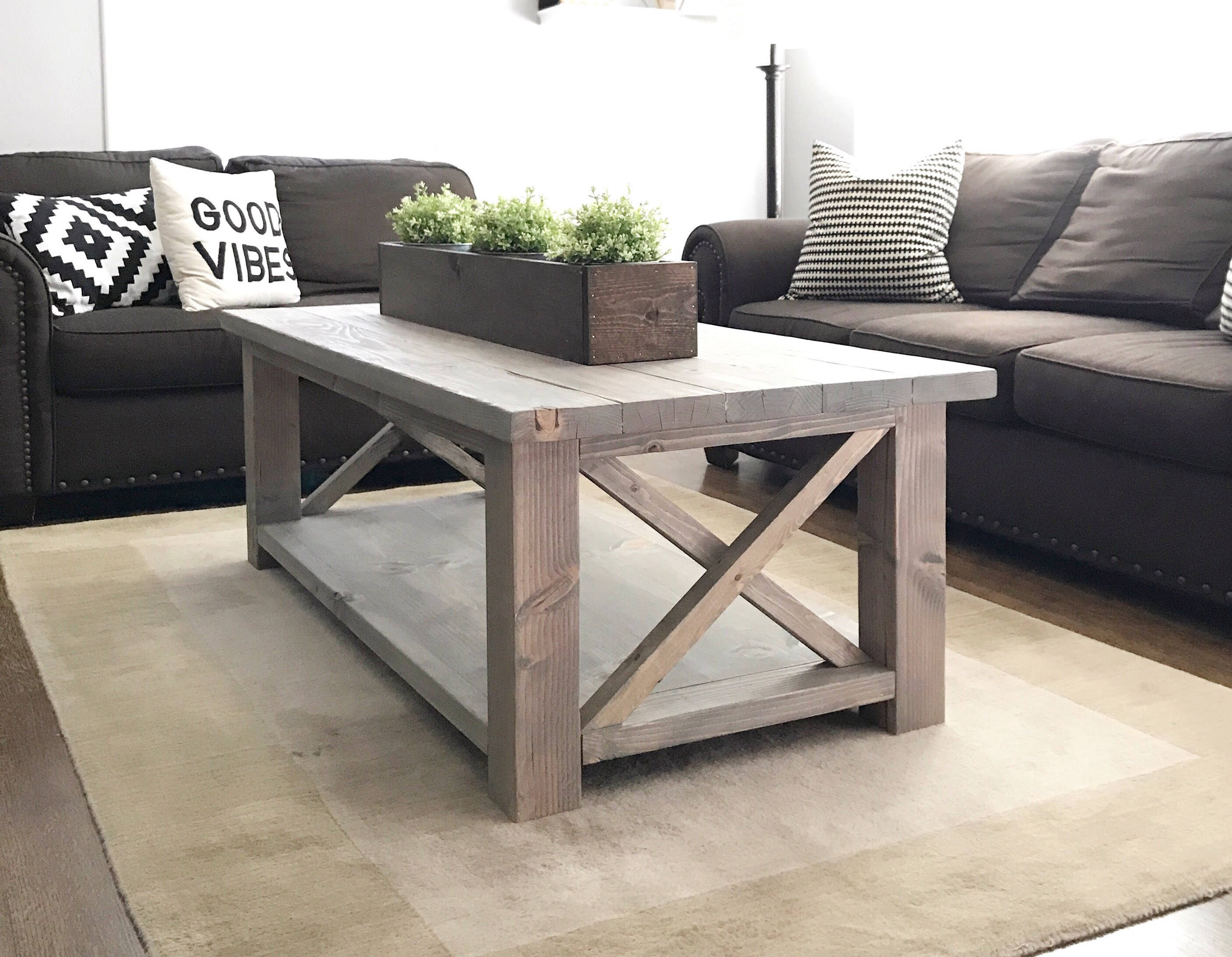 Best ideas about Farmhouse Coffee Table . Save or Pin Rustic Coffee TableFarmhouse Coffee Table Now.