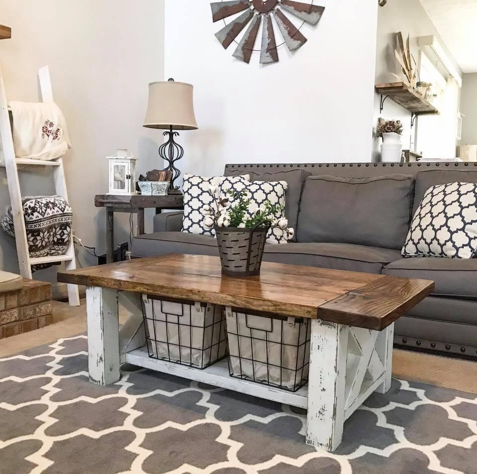 Best ideas about Farmhouse Coffee Table . Save or Pin DIY Chunky Farmhouse Coffee Table DIY Woodworking Plans Now.