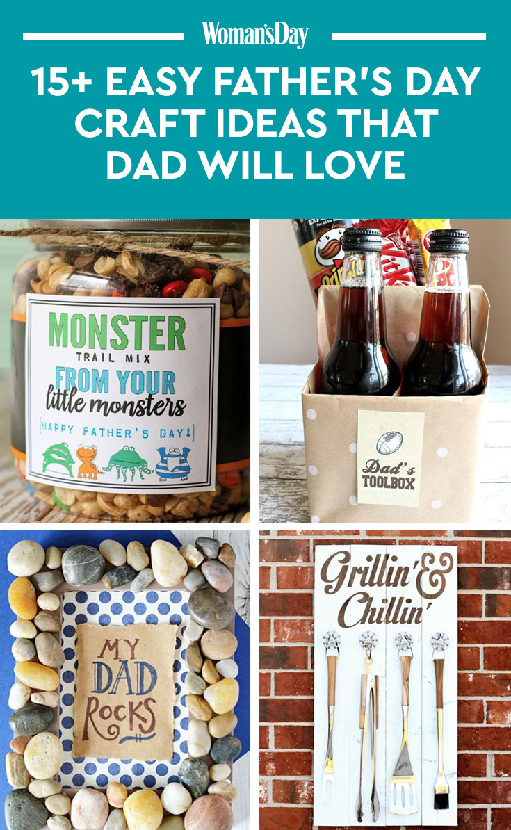 Best ideas about Father'S Day Craft Gift Ideas . Save or Pin 16 Cute Father s Day Crafts for Kids To Make Easy DIY Now.