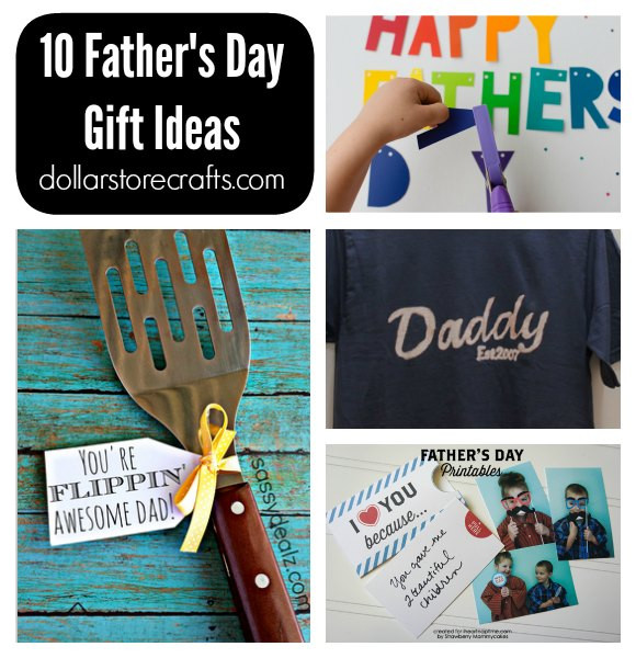 Best ideas about Father'S Day Craft Gift Ideas . Save or Pin 10 DIY Father s Day Gifts Dollar Store Crafts Now.