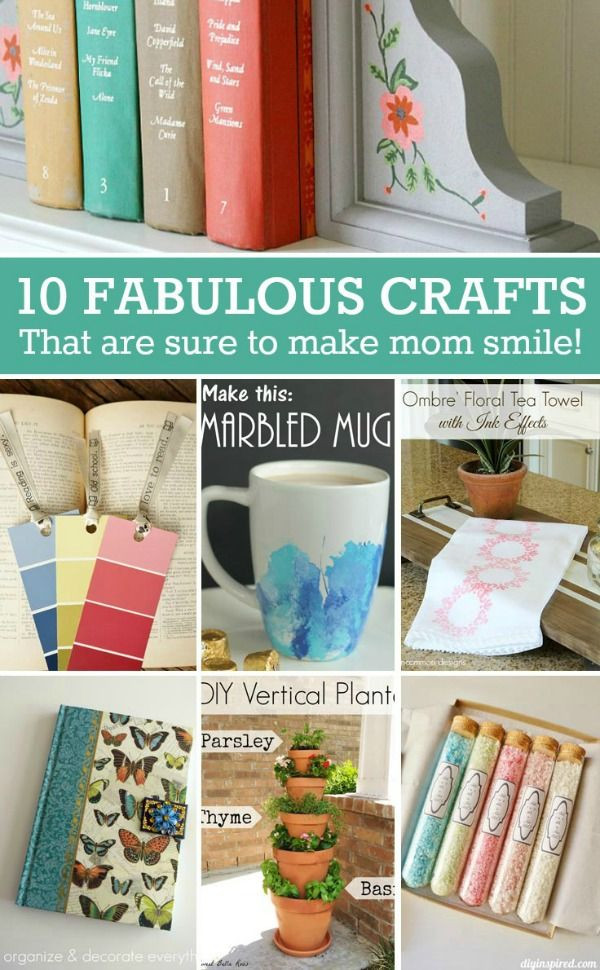Best ideas about Father'S Day Craft Gift Ideas . Save or Pin Mothers Day DIY Gift Ideas Fun and useful ts that are Now.