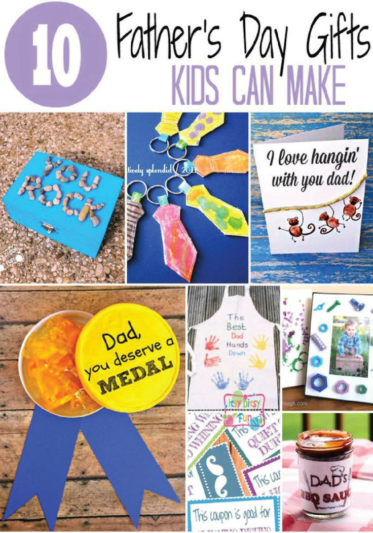 Best ideas about Father'S Day Craft Gift Ideas . Save or Pin Father s Day Gifts Kids Can Make Now.