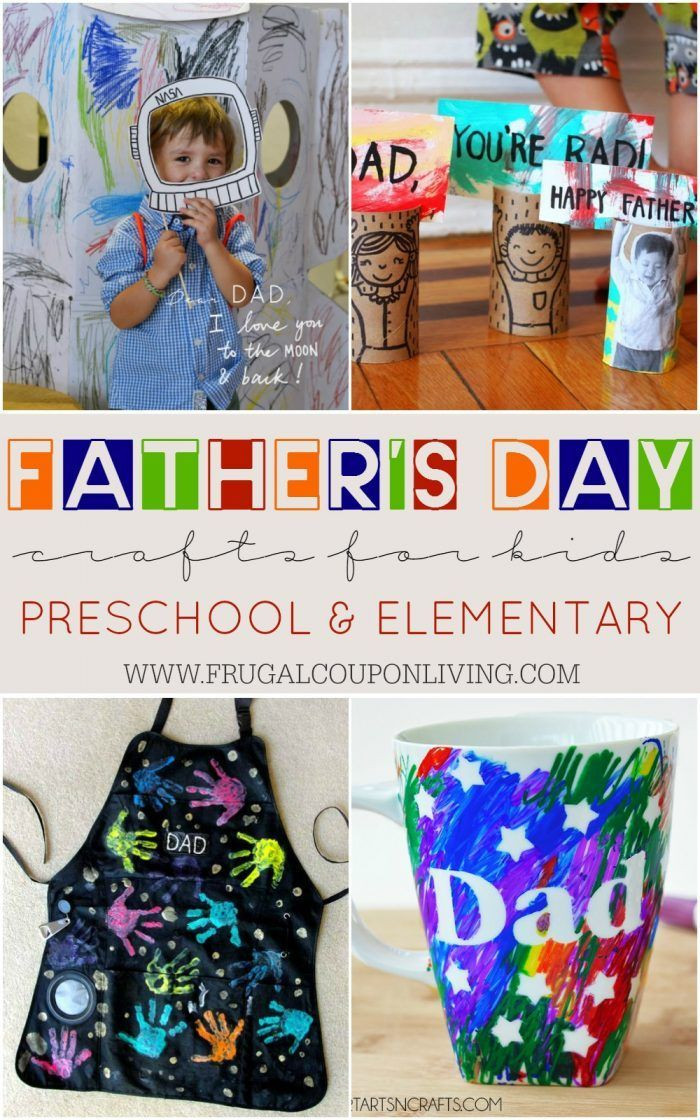 Best ideas about Father'S Day Craft Gift Ideas . Save or Pin Father s Day Crafts for Kids Preschool Elementary and Now.