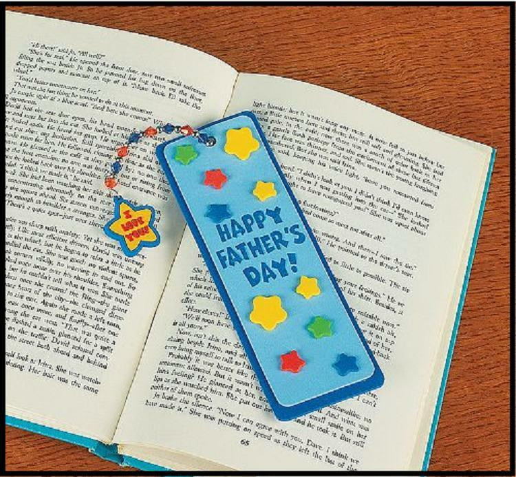 Best ideas about Father'S Day DIY . Save or Pin Father s Day Bookmark Charm Craft Kit Dad Kids ABCraft Now.