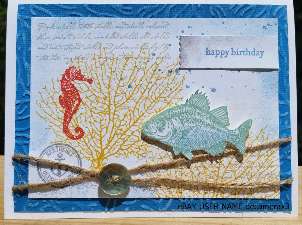 Best ideas about Father'S Day DIY . Save or Pin BIRTHDAY FATHER S DAY CARD KIT SET OF 4 HANDMADE STAMPIN Now.