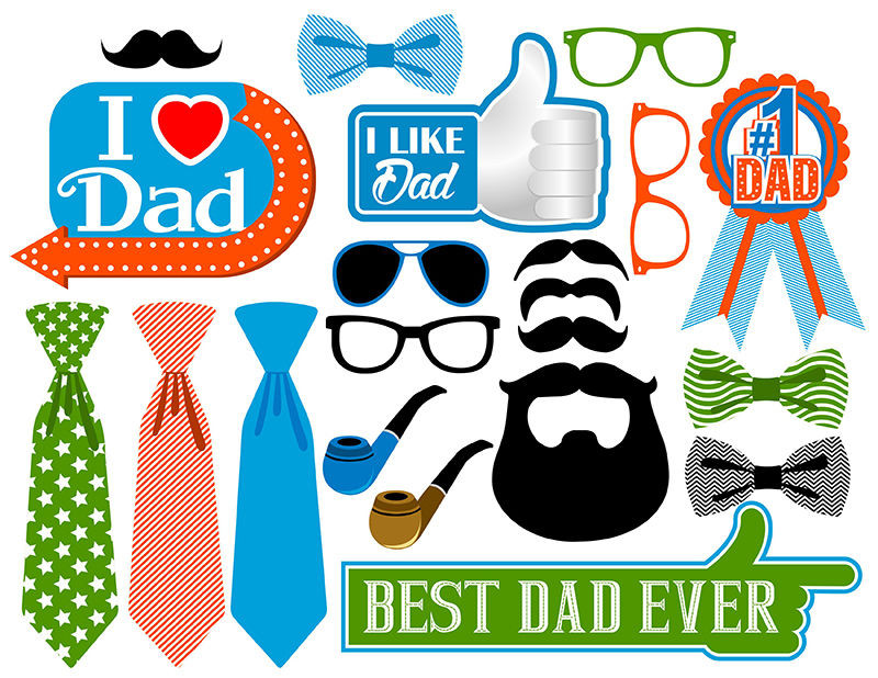 Best ideas about Father'S Day DIY . Save or Pin DIY DIGITAL Father s Day photo booth props NO PHYSICAL Now.