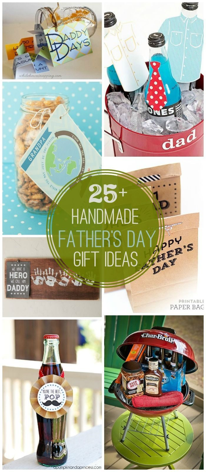 Best ideas about Father'S Day Diy Gift Ideas . Save or Pin 25 DIY Father s Day Gift Ideas a great collection of Now.