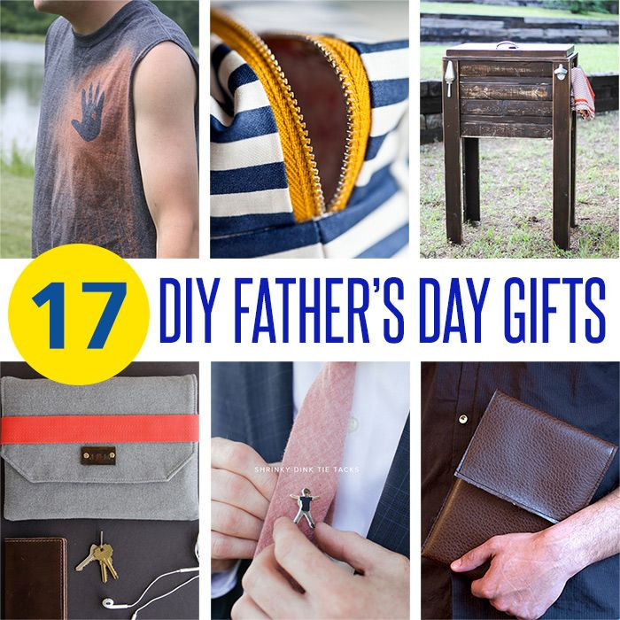 Best ideas about Father'S Day Diy Gift Ideas . Save or Pin 17 DIY Father s Day Gift Ideas Now.