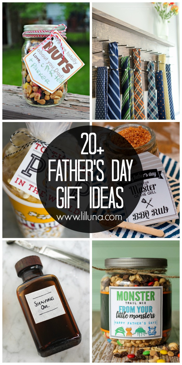 Best ideas about Father'S Day Diy Gift Ideas . Save or Pin 20 DIY Father s Day Gift Ideas Lil Luna Now.