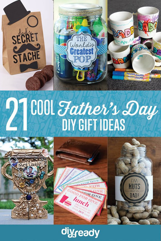 Best ideas about Father'S Day Diy Gift Ideas . Save or Pin 21 Cool DIY Father s Day Gift Ideas DIY Ready Now.
