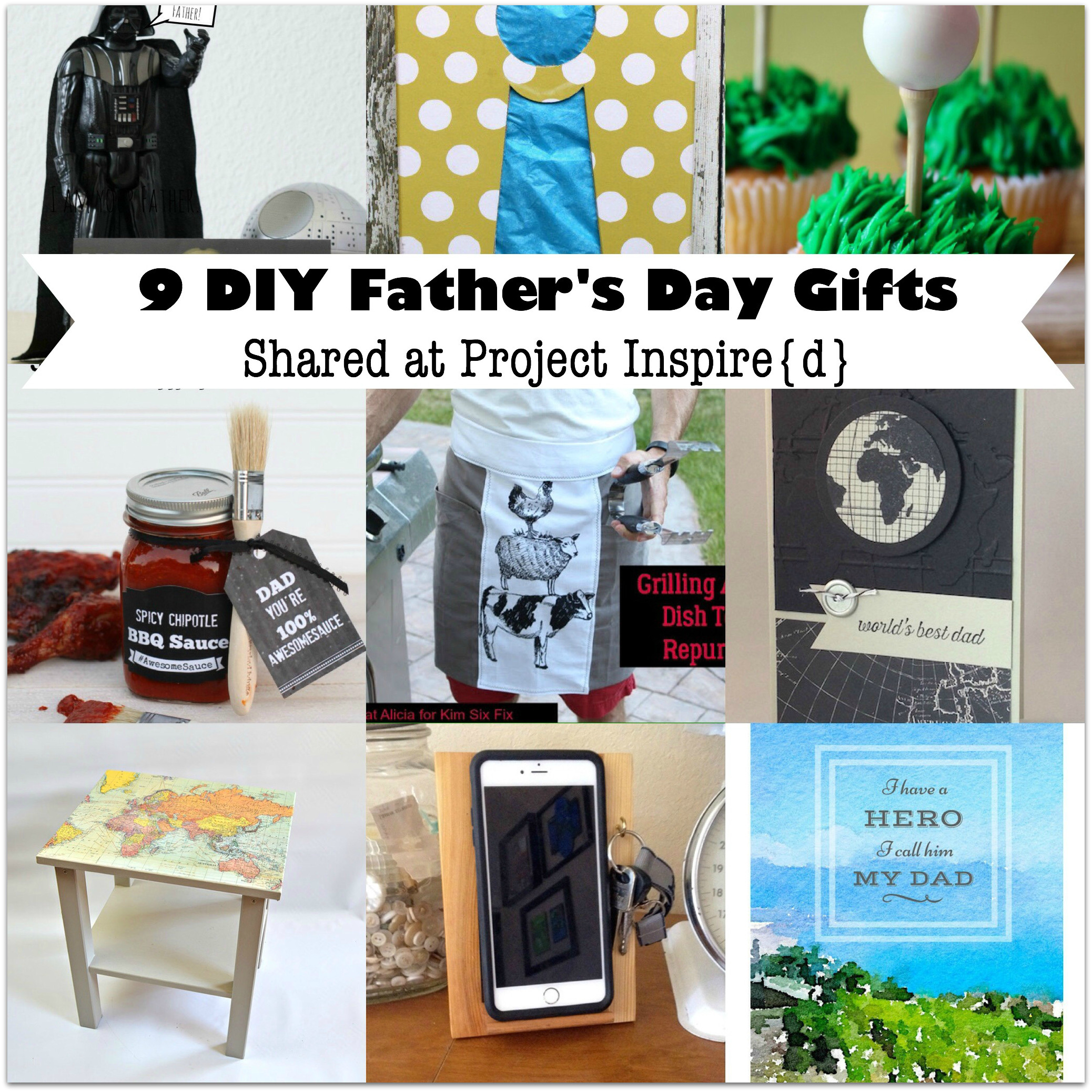 Best ideas about Father'S Day Diy Gift Ideas . Save or Pin 9 DIY Father s Day Gift Ideas Now.