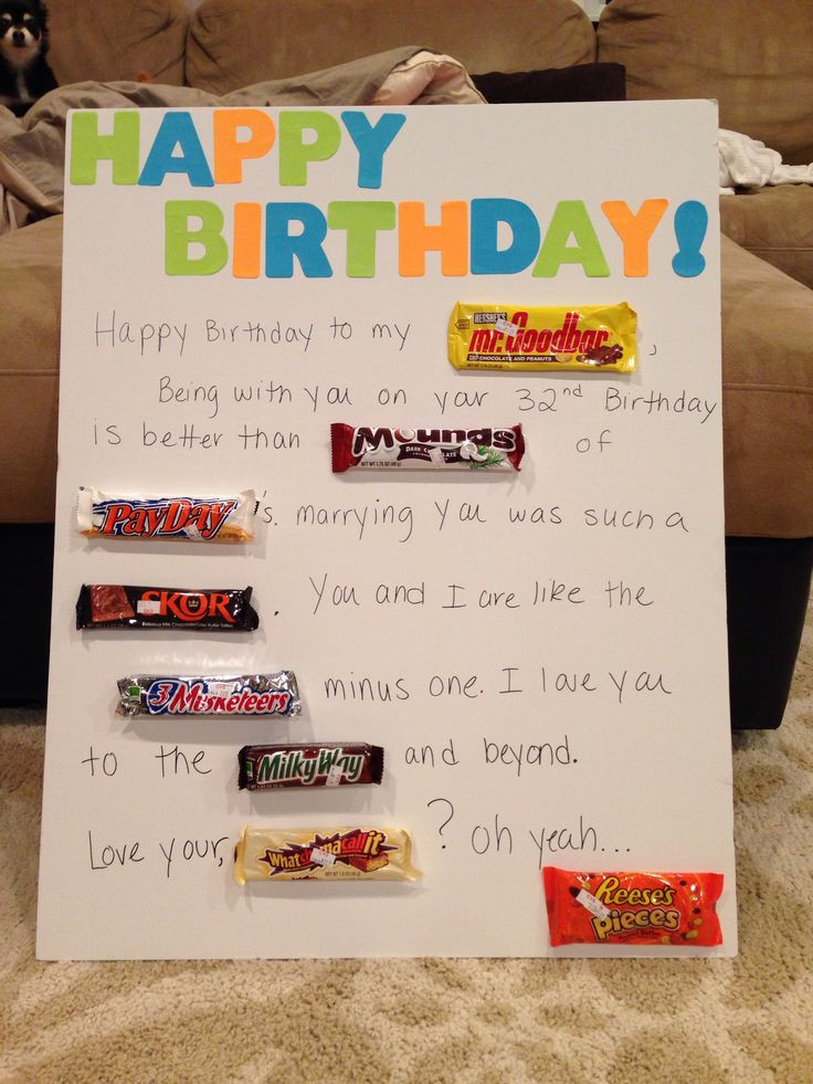 Best ideas about Father'S Day Gift Ideas For Husband . Save or Pin 40 best images about Husband s Birthday Ideas on Pinterest Now.