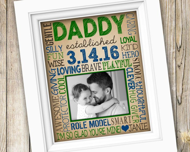 Best ideas about Father'S Day Gift Ideas From Baby . Save or Pin First Time Dad Gift New Dad Gift for Daddy First Now.