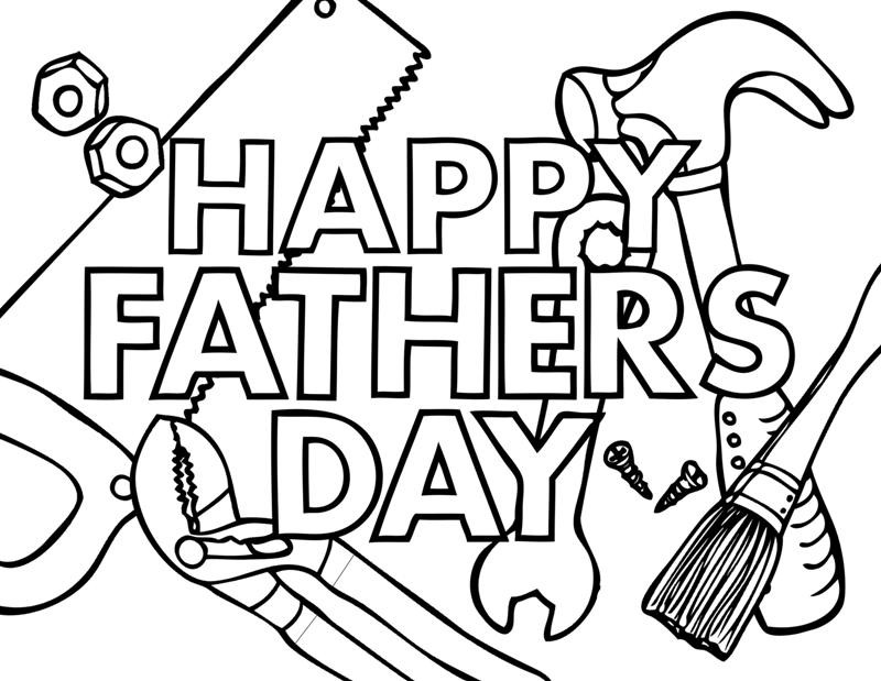 Best ideas about Fathers Day Coloring Pages For Kids . Save or Pin Fathers Day Crafting The Word God Now.