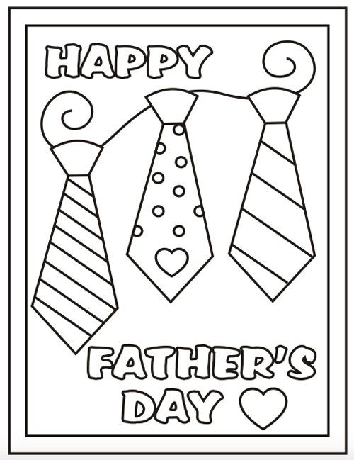 Best ideas about Fathers Day Coloring Pages For Kids . Save or Pin Free Printable Father s Day Coloring Sheets It s in the Now.