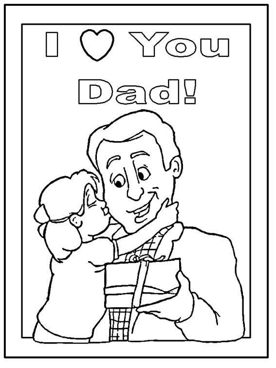 Best ideas about Fathers Day Coloring Pages For Kids . Save or Pin Father s Day Crafts Now.