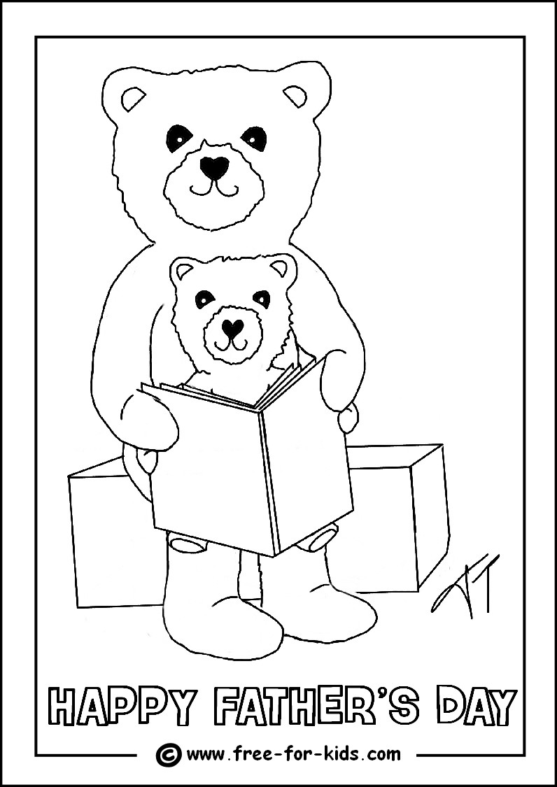 Best ideas about Fathers Day Coloring Sheets For Kids That Said Papi . Save or Pin Fathers Day Colouring Sheets Now.