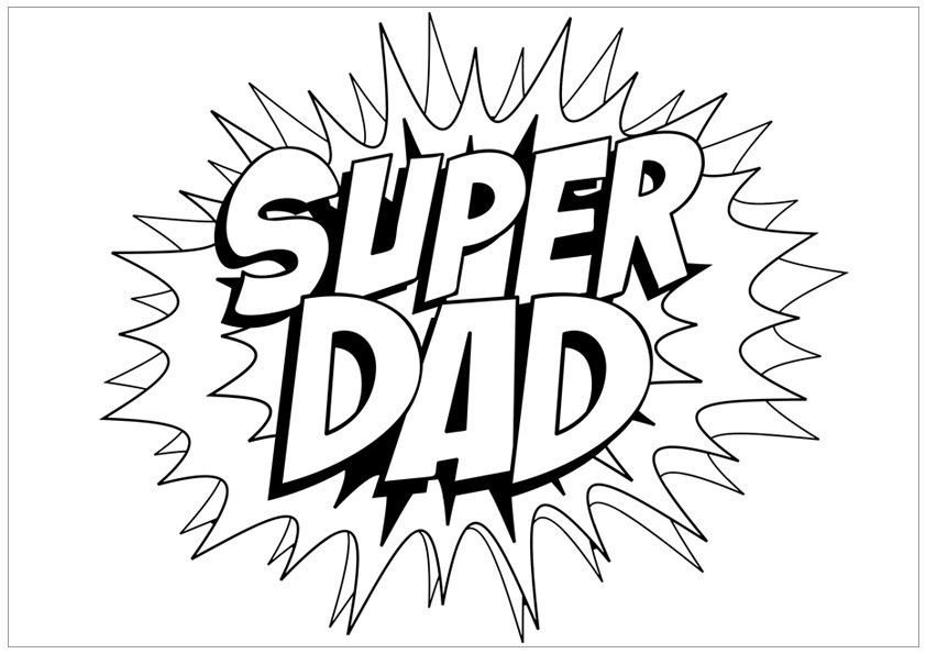 Best ideas about Fathers Day Coloring Sheets For Kids That Said Papi . Save or Pin Free Unique and Printable Father s Day Coloring Pages for Now.