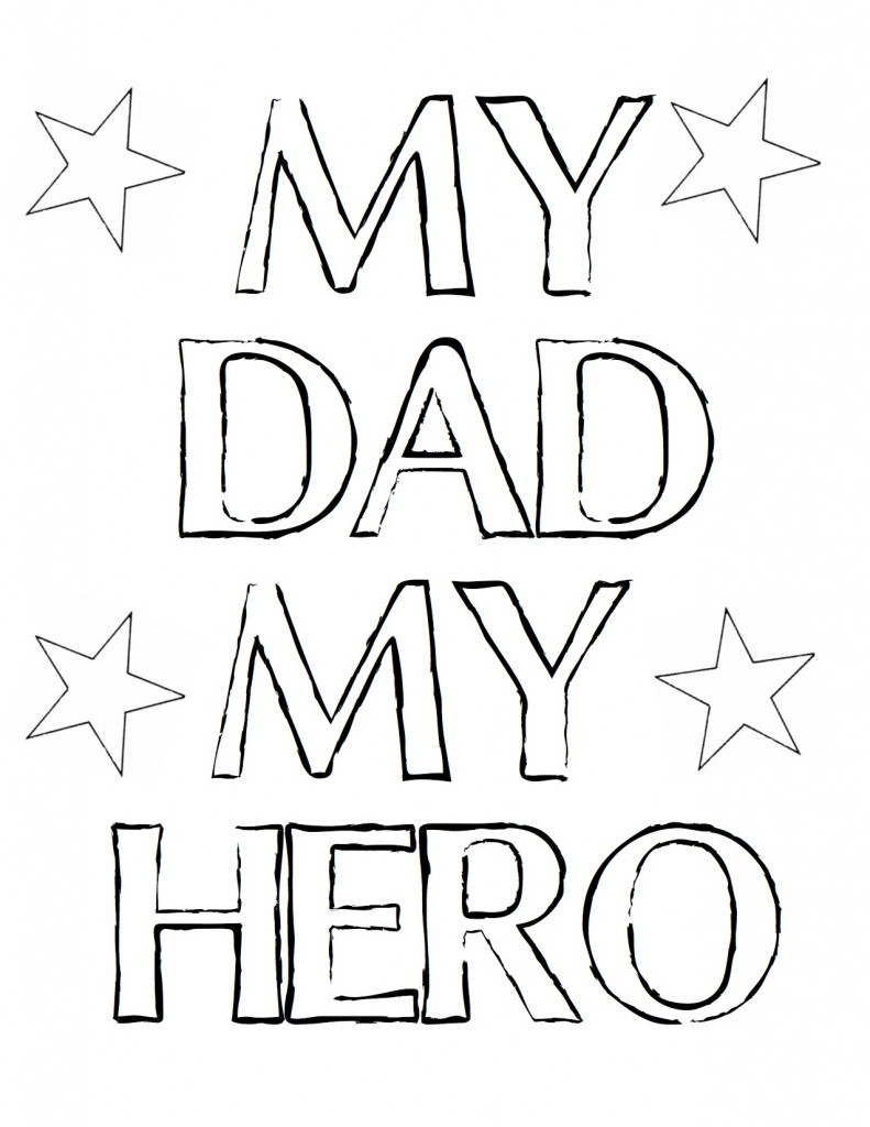 Best ideas about Fathers Day Coloring Sheets For Kids That Said Papi . Save or Pin Happy Fathers Day Coloring Pages coloringsuite Now.