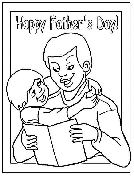 Best ideas about Fathers Day Coloring Sheets For Kids That Said Papi . Save or Pin Happy Fathers Day Coloring Pages For The Holiday family Now.