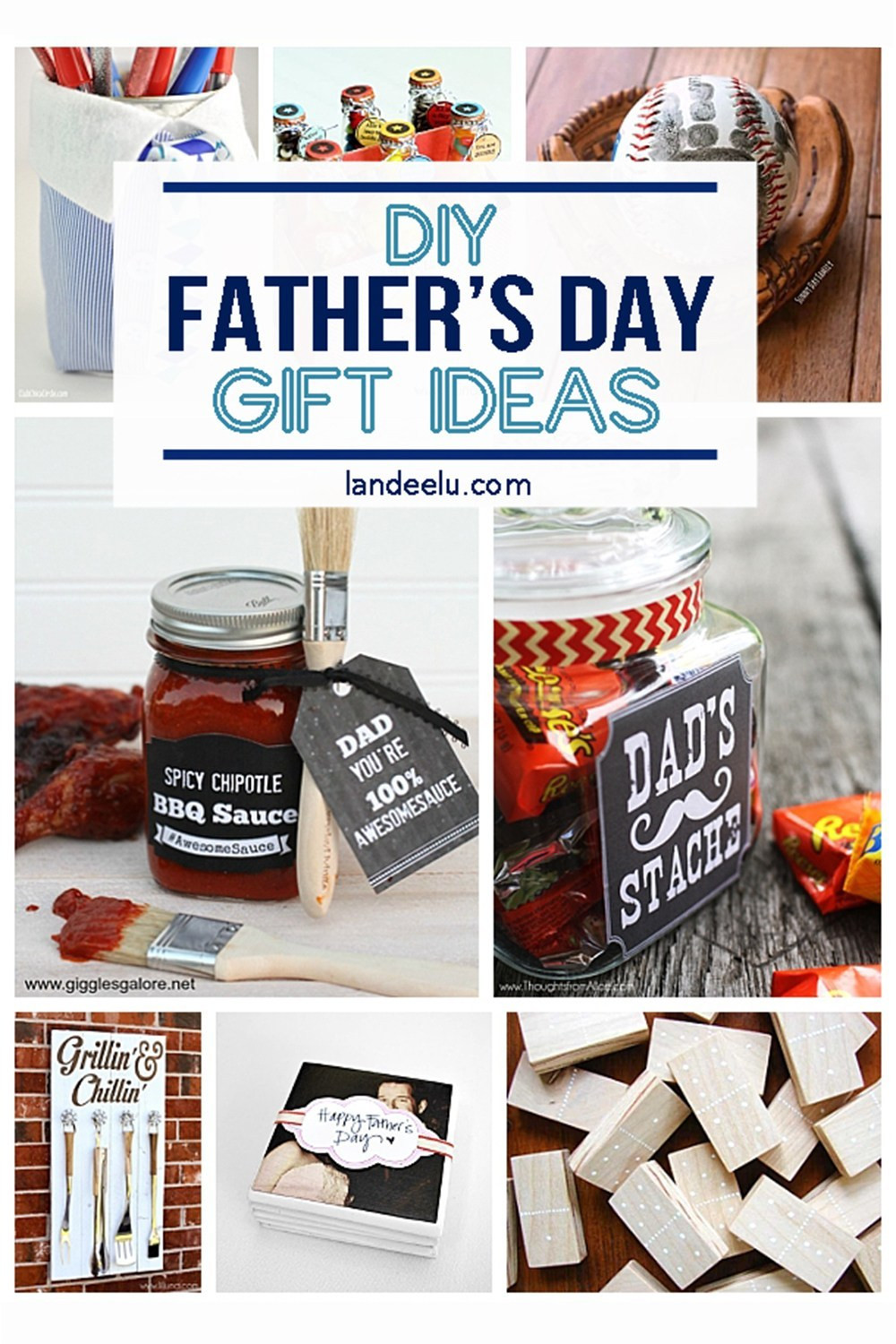 Best ideas about Fathers Day Gift DIY . Save or Pin 21 DIY Father s Day Gifts to Celebrate Dad landeelu Now.