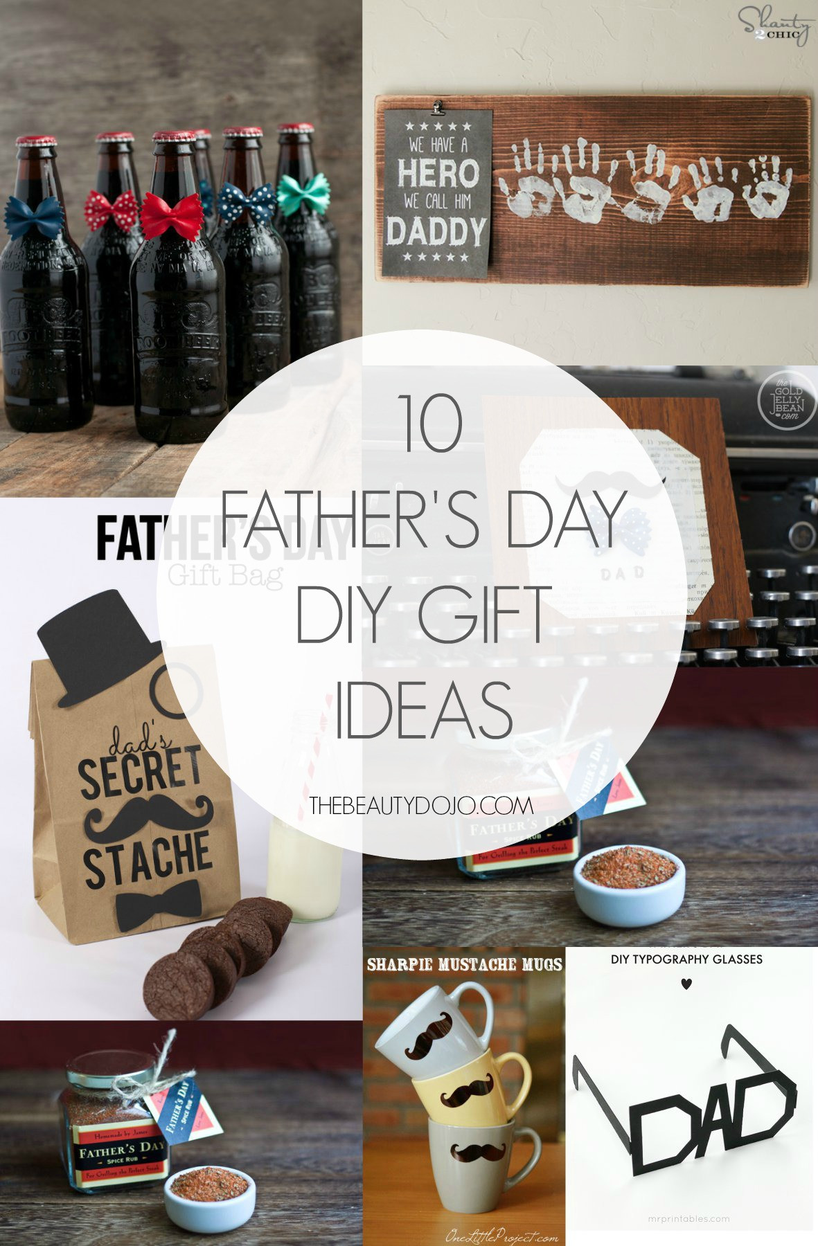 Best ideas about Fathers Day Gift DIY . Save or Pin 10 Father s Day DIY Gift Ideas The Beautydojo Now.